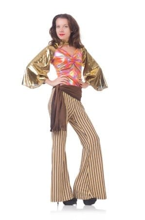 Bell bottoms are back!