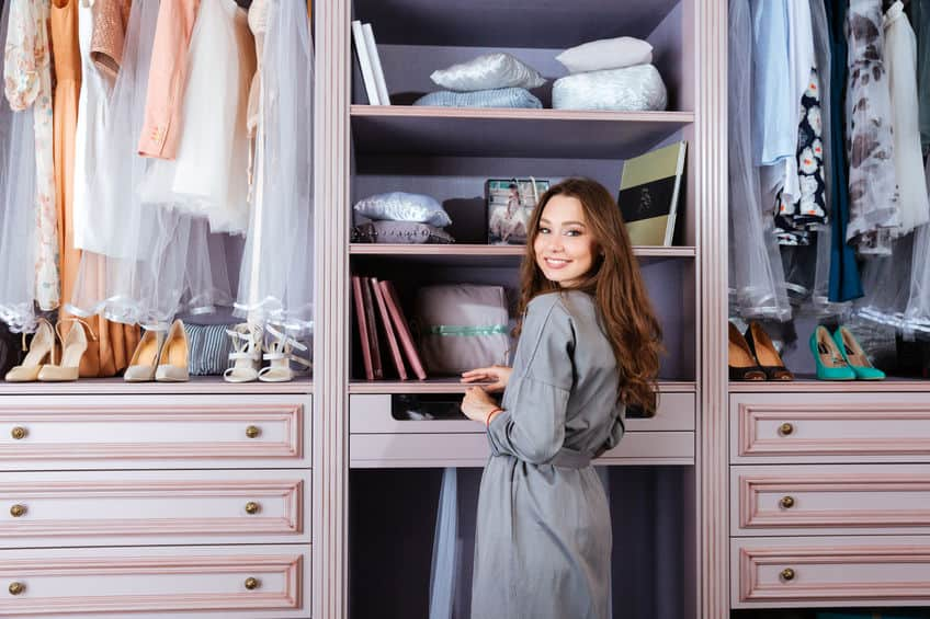 Get a new wardrobe just by organizing your closet